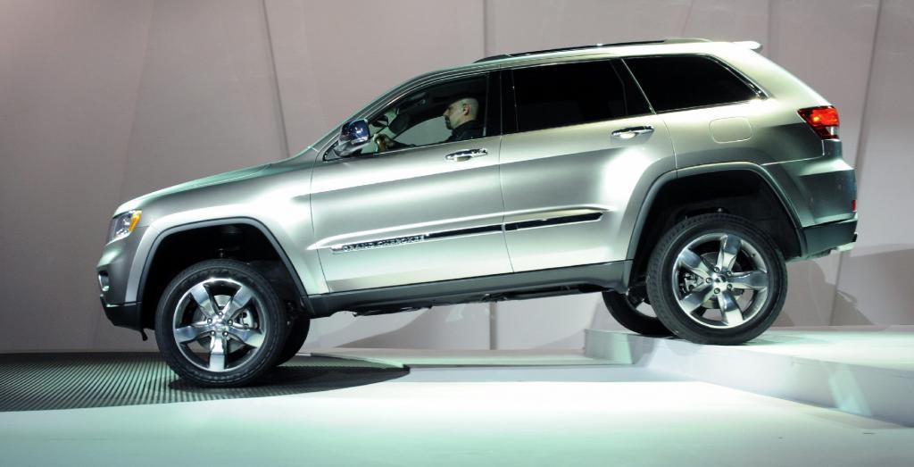Chrylser zeigt neuen Jeep Grand Cherokee