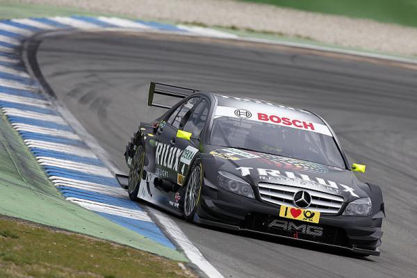 Di Resta und Spengler an der Spitze: Mercedes gibt den Ton an