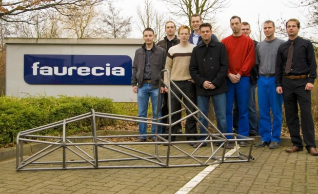 Faurecia startet mit Hochschulteam bei der ''Formula Student''