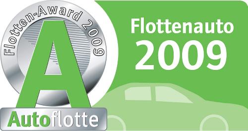 Gewinner des Autoflotte Flotten-Awards 2009 ausgezeichnet