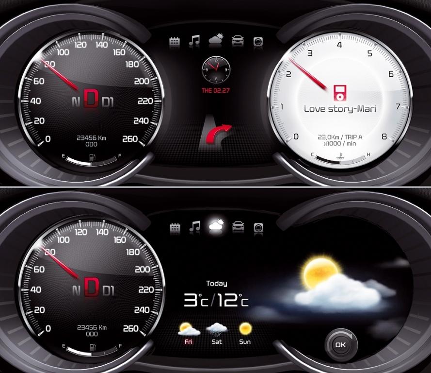 Kia feiert Weltpremieren auf der Seoul Motor Show