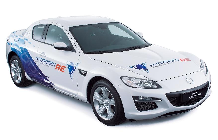 Mazda baut Wasserstoff-RX-8 für Norwegen
