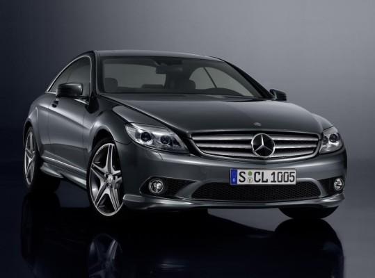 Mercedes-Benz feiert 100 Jahre Markenzeichen mit CL 500-Sondermodell