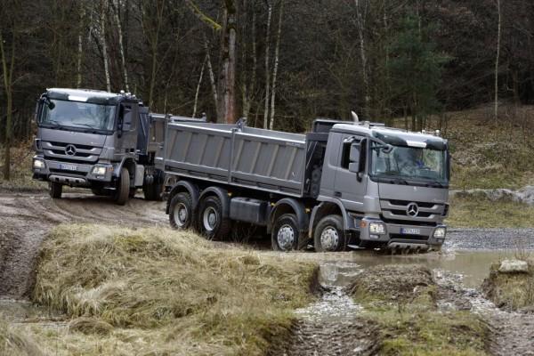Mercedes-Benz mit Bauversion des Actros