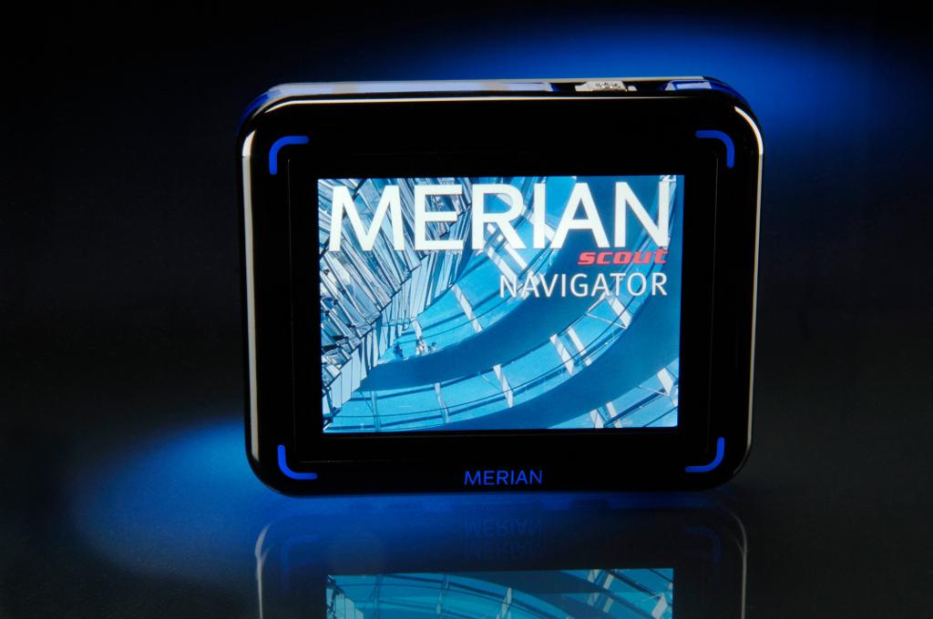 Merian scout Navigator: Multimedia-Reiseführer in zwei Varianten