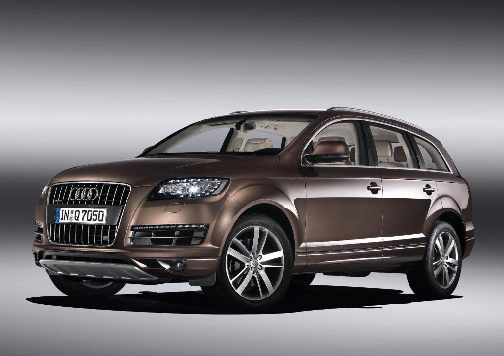 Modellpflege: Sparsamere Motoren für Audi Q7