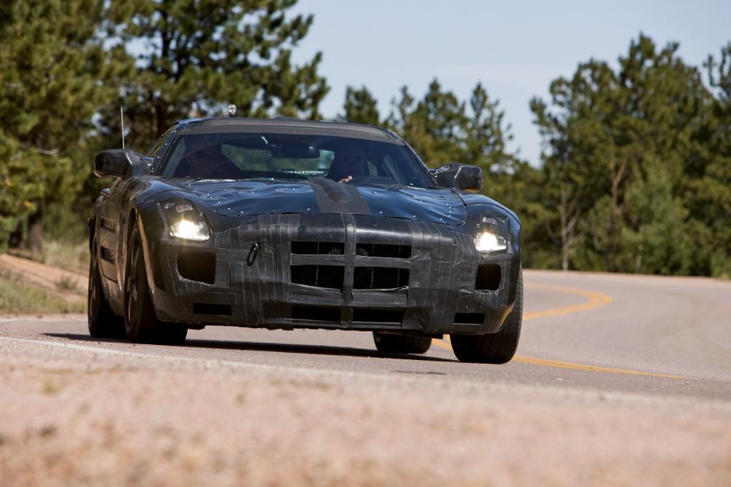 New York 2009: AMG lüftet noch ein bisschen den Schleier über dem SLS