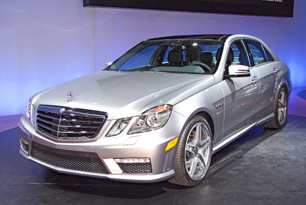 New York 2009: Die AMG-Version zur neuen E-Klasse
