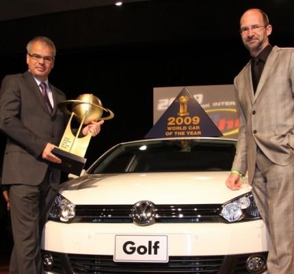 New York 2009: Golf ist das Weltauto des Jahres