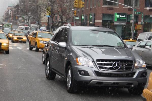 New York 2009: Mit dem Mercedes-Benz ML 450 Hybrid durch Big Appel