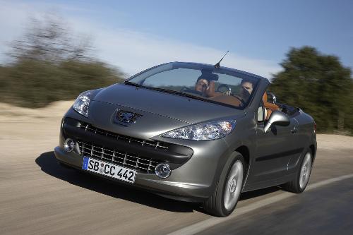 Peugeot mit neuem Sondermodell für den 207 CC