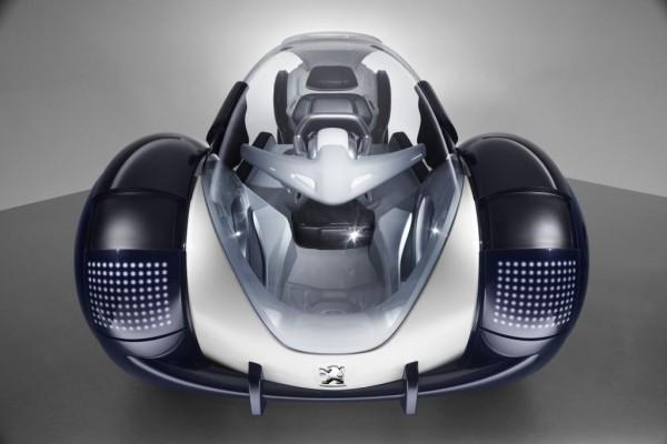 Peugeot präsentiert Design-Studie ''RD'' im Maßstab 1:1