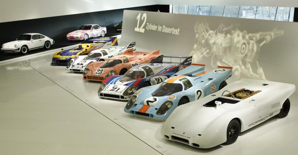 Porsche-Museum an Feiertagen geöffnet
