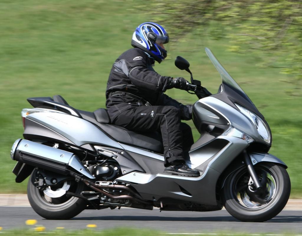 Presse-Präsentation Honda SW-T 400: Luxuriöser Stoiker