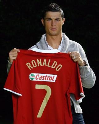 Ronaldo bei Castrol unter Vertrag