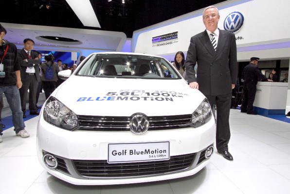 Shanghai 2009: Bluemotion-Technologie bald auch mit Benzinmotor