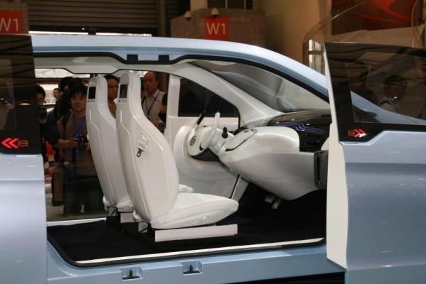 Shanghai 2009: Brilliance mit Studie zu einem Elektroauto