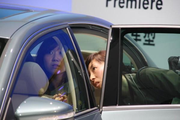 Shanghai 2009: Der Drang zum Auto ist ungebrochen