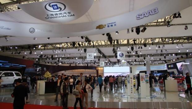 Shanghai 2009: General Motors mit großem Auftritt