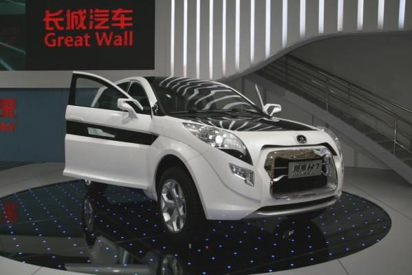 Shanghai 2009: Great Wall Hover H7 fertig für Europa