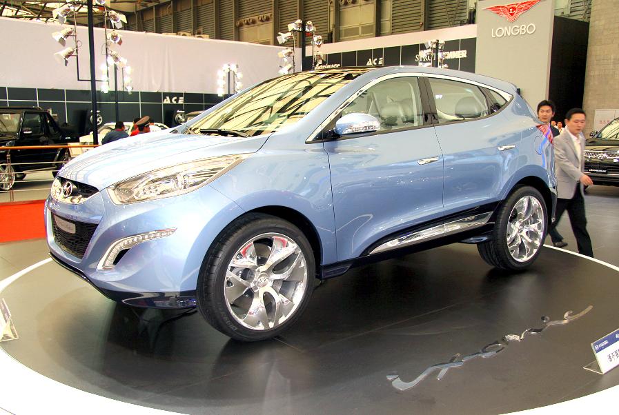 Shanghai 2009: Hurra, ein Diesel aus Korea für China!