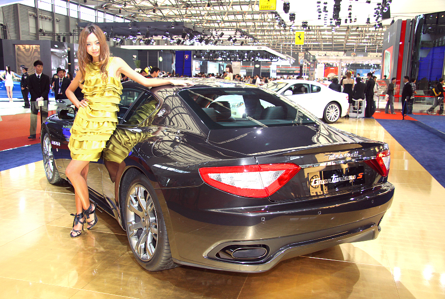 Shanghai 2009: Maserati stellt den Gran Turismo S Automatik vor
