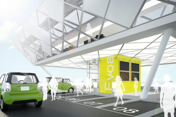 Strom-Tankstellen mit Lounge geplant