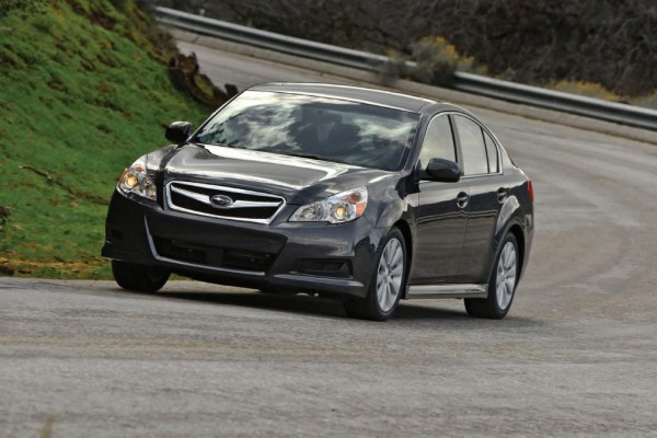 Subaru Legacy feiert Premiere in New York