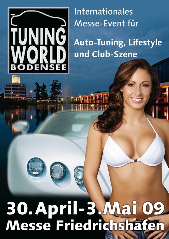 Tuning World Bodensee 2009: Power, Chrom & heiße Girls... - Bild(9)