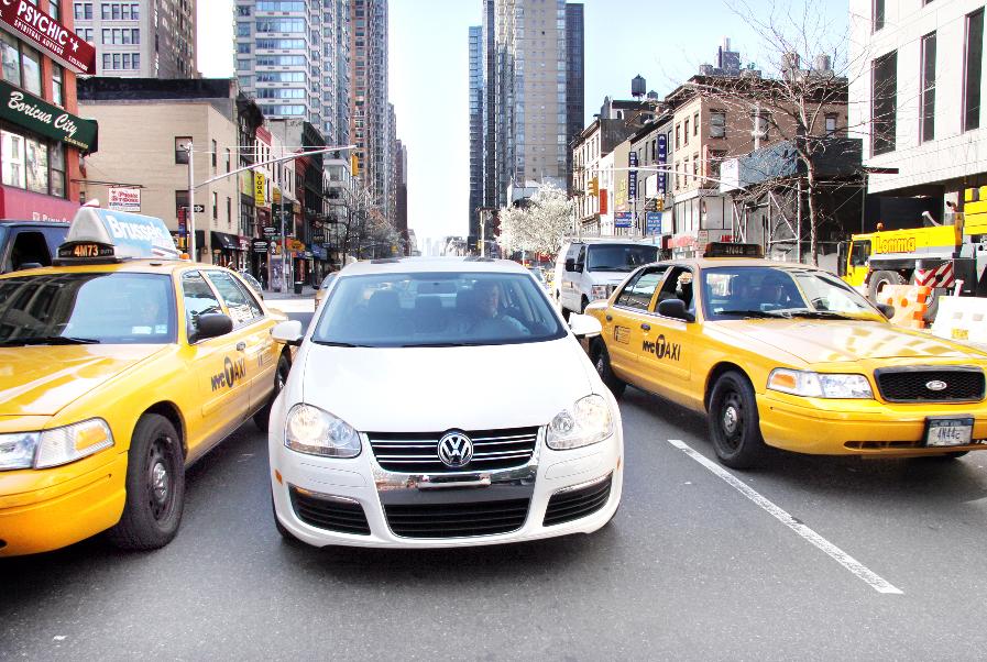 Volkswagen Jetta Diesel immer beliebter als New Yorker Taxi