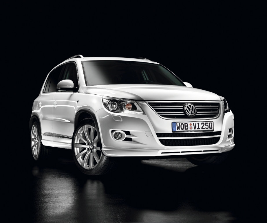 Volkswagen bietet R-Line Ausstattungspakete für den Tiguan