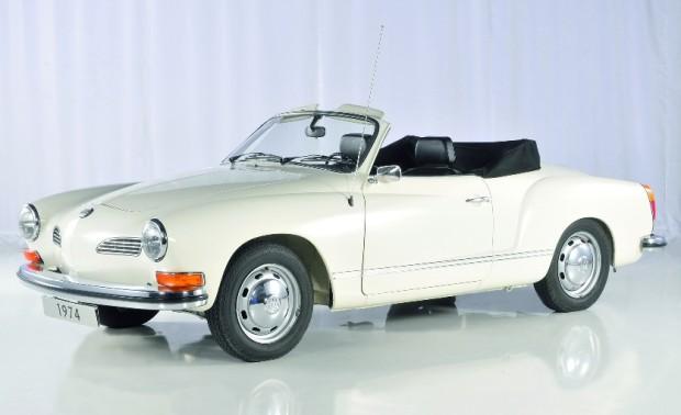Volkswagen zeigt auf der Techno Classica ein halbes Dutzend Cabrios