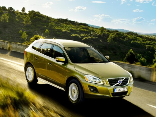 Volvo XC60 in Sparversion mit Frontantrieb