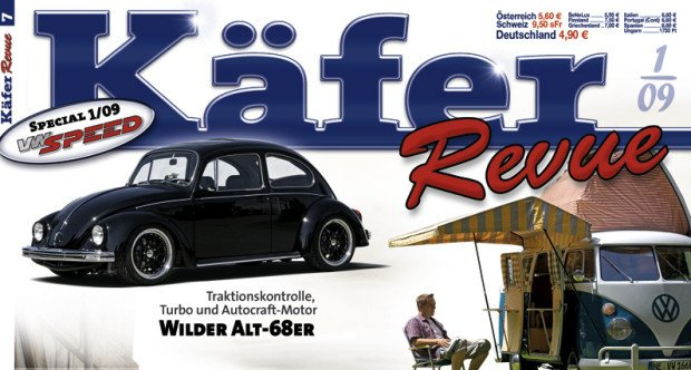 auto.de-Ankündigung: VW-Spezial Käfer-Revue 2009