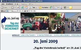 """""""Tag der Verkehrssicherheit"""" am 20. Juni 2009"""