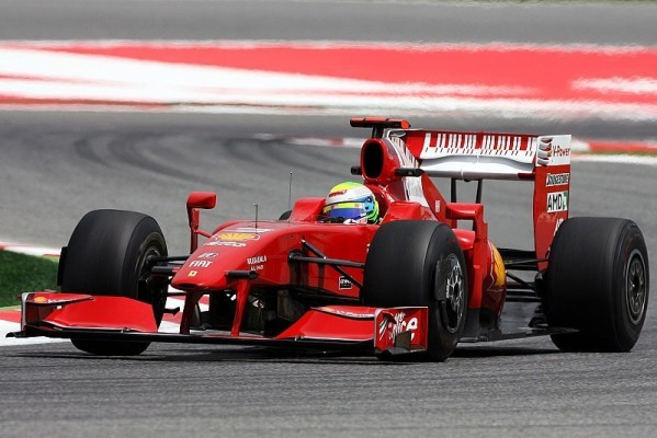 3. Freies Training: Massa vor Räikkönen