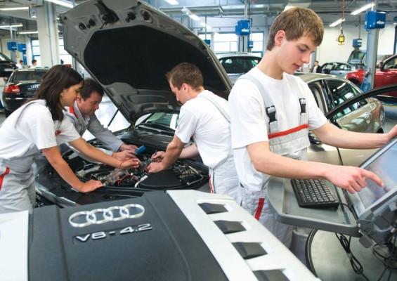 Audi bietet zum 100-jährigen Bestehen 100 zusätzliche Ausbildungsplätze