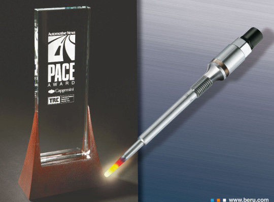 Beru gewinnt PACE Award 2009