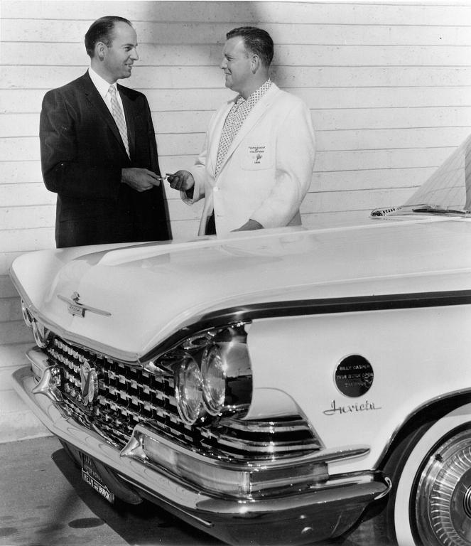 Billy Casper Wins a New Buick at 1958