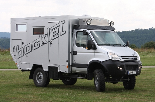 Bocklet stellt neues Fernreisemobil Dakar 630 vor