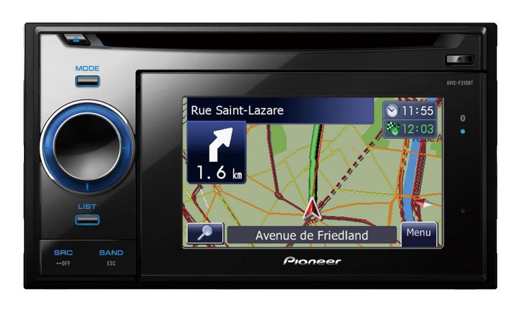 Entertainment & Navigation: Pioneer AVIC-F310BT - Bild