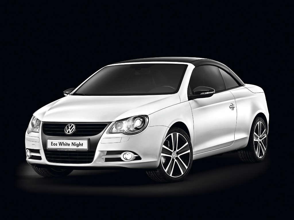 Eos: Sondermodell: Volkswagen Eos White Night