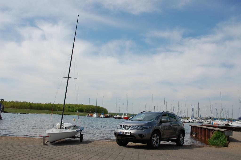 Erstkontakt Nissan Murano Executive 3.5 V6: (T)Raumschiff mit Charakter