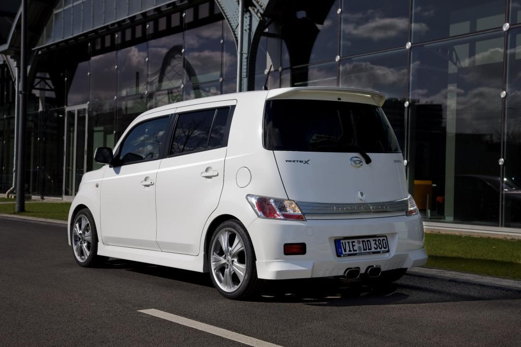 Fahrbericht Daihatsu Materia White X: Frechheit siegt - Bild(3)