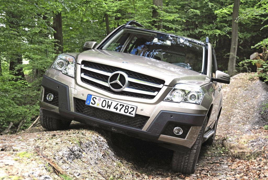 GLK-Klasse: Umweltzertifikat für den Mercedes-Benz GLK