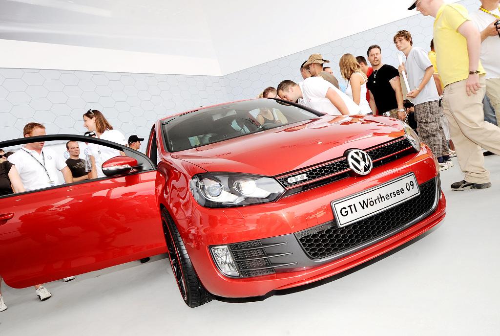 """Golf: GTI-Treffen 2009: Studie zum GTI als """"Wörthersee 09"""""""
