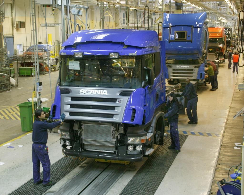 Kurzarbeit bei Scania