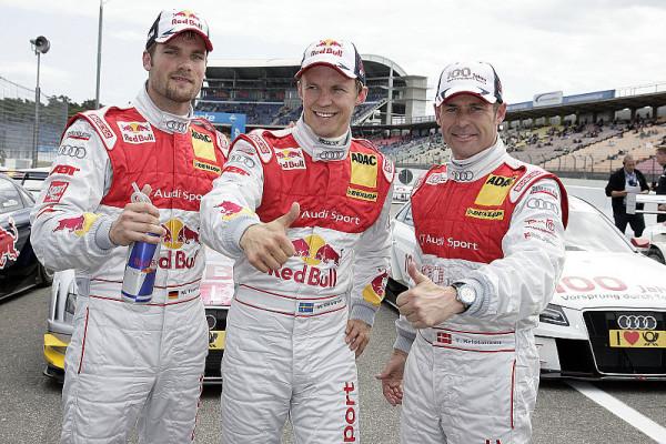 Mattias Ekström sichert sich die Pole: Fehlstart für Mercedes