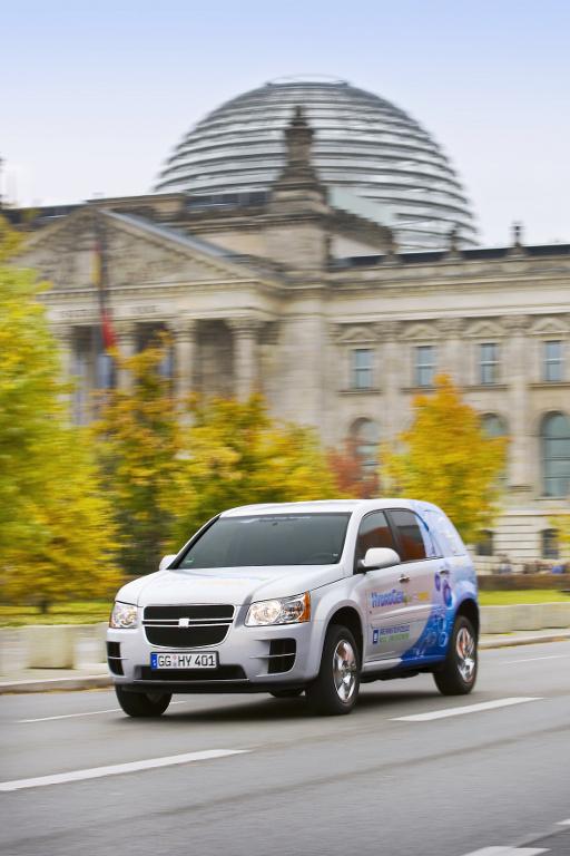 Modellstudien: Opel HydroGen4 beweist Alltagstauglichkeit