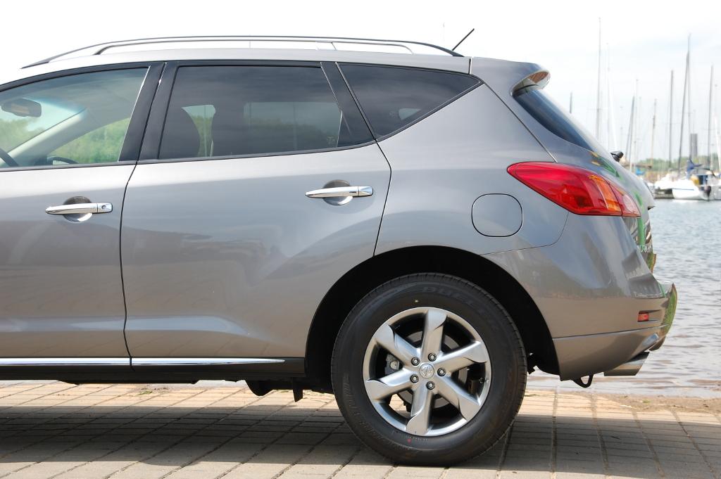 Murano: Erstkontakt Nissan Murano Executive 3.5 V6: (T)Raumschiff mit Charakter